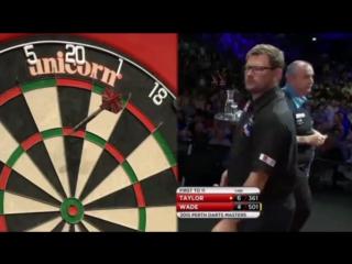 Phil Taylor vs James Wade (Perth Darts Masters 2015 / Final)