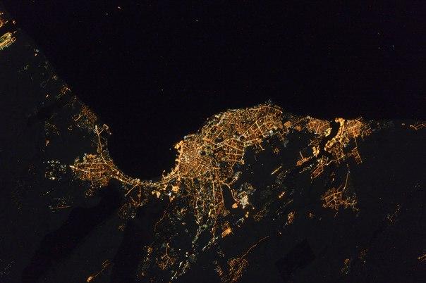 Одесса, снимок из космоса