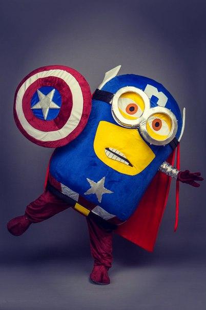 Поздравление-сюрприз от супергеройского Миньона всего за 30 руб.