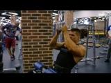 Тренировка мышц спины. Денис Гусев
