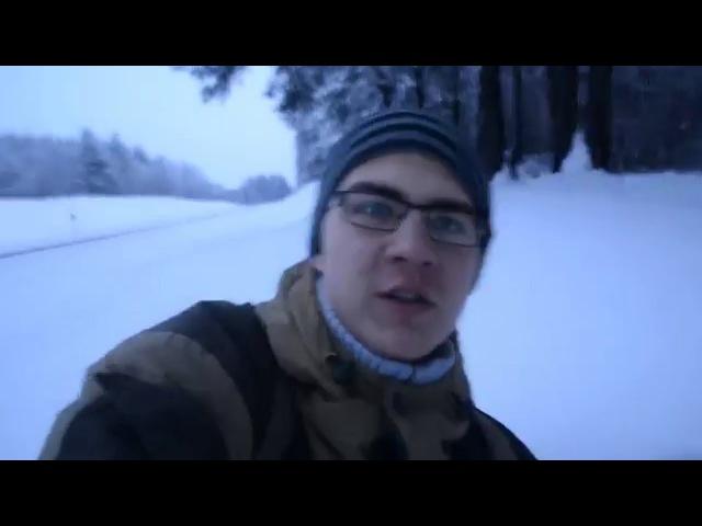 Тонул в снегу. Д. Сосновка-Оз.Чертово-Пос. Новка