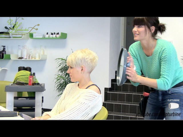 Short pixie haircut makeover - undercut / sidecut - extreme haircut short by alisha heide