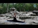 Татьяна Киселёва демонстрация сложных асан Йоги