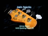 James Brown Bass Backing Track (D) - TheGuitarLab.net -