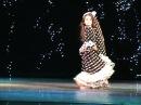 Цыганский танец . Ученица Екатерины Шашковой - Мария Поцелуева