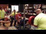 Джейк Джонс ( США),  жим лёжа - raw - 252 кг,  ЧМ - IPL .