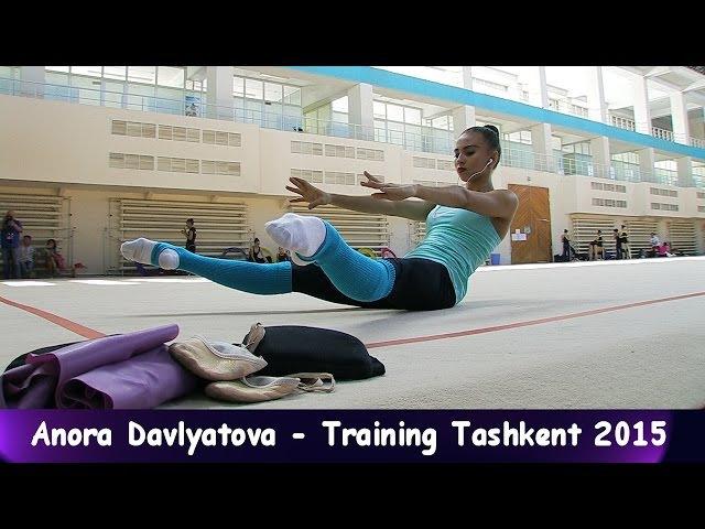 Anora Davlyatova - Training World-Cup Tashkent 2015