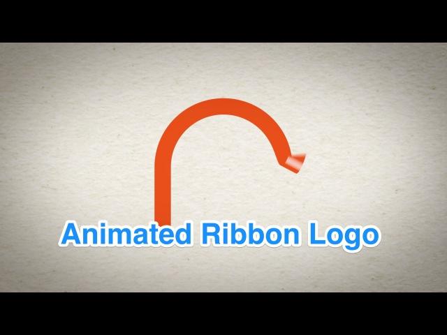 Animated Ribbon Logo