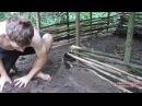 Primitive Technology Соломенно грязевая хижина