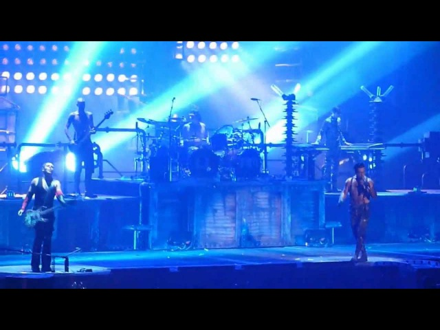 Rammstein - Haifisch [11.12.2010 - New York] (multicam by popaduba) HD