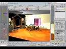 3dsMAX Урок 18 Вставка источников света визуализация