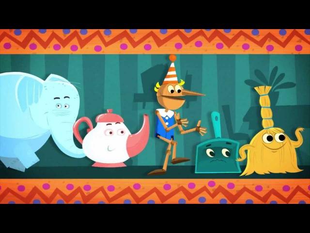 Фиксипелки - Песенки для детей - Пылесос | Фиксики - познавательные образовательные мультики