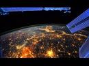 мкс ночной полет над землей
