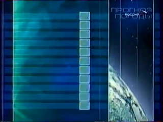 staroetv.su | Прогноз погоды и конец эфира (Россия, 4.09.2002)