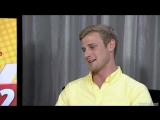 Colin Morgan  Katie McGrath EW Interview at San Diego Comic-Con 2012