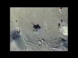 Сирия. Уничтожение самолётом ВКС РФ танка боевиков ИГ 19.01.2015