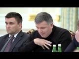 Аваков и Саакашвили - два так называемых хохлятских клоуна)))