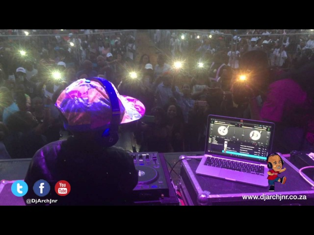 Arch Jnr playing for 25000 people (Dj Nation)