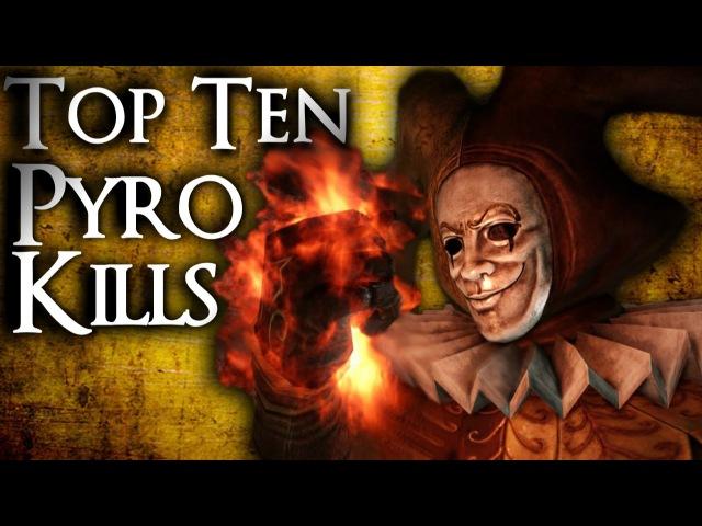Dark Souls 2 - Top Ten Pyromancy Kills! (21)