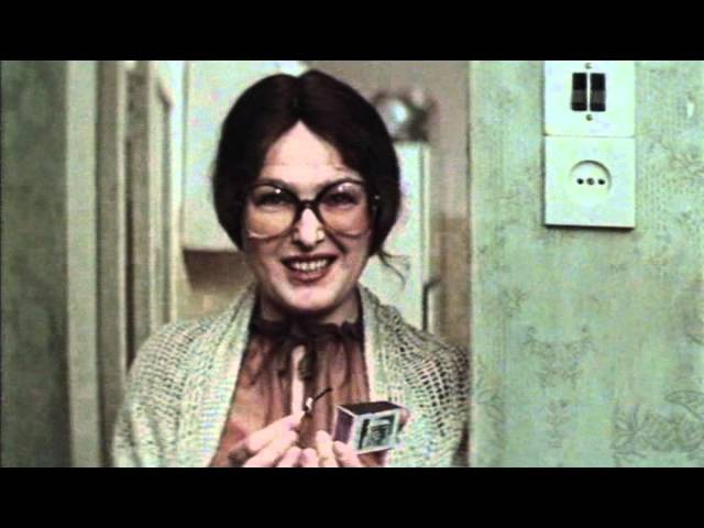 Реклама Купперсбуш в фильме Блондинка за углом 1984г.