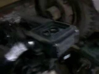 Самодельный минитрактор соееденение КПП Газ 53-51 и двигателя MAZDA 323 1.7 TD(isuzu)