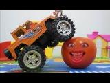 Мультики про машинки Говорящий Апельсин и Помидорка