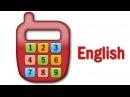 Английский для детей - учимся считать от 1 до 9 - учим цифры