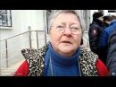 Русская женщина высказала свое мнение не боясь путинской власти.