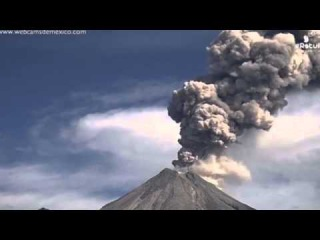 Incredible video shows Ring of Fire volcano spewing huge ash column as it erupts TWICE in one day