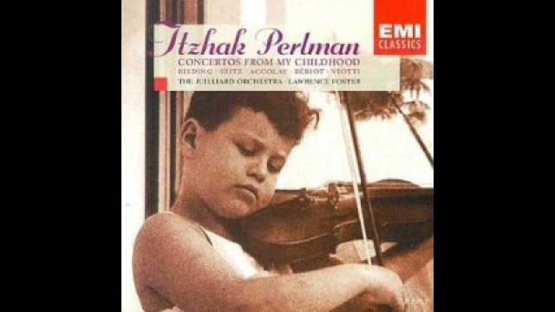 Itzhak Perlman plays Rieding Violin Concerto in B minor op.35 (Concerto from childhood)