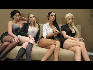 Alexis Ford & Angelina Valentine & Kagney Linn Karter & Phoenix Marie - Office 4-Play III