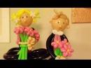 Мальчик и девочка из шаров.Boy and girl with