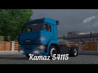 [ETS2 v1.8.2.5s] [MOD] Kamaz 54115