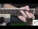 Уроки гри на гитаре для начинающих Видео обучение крутое  Песня Как Играть Bahh tee   Ты меня не сто