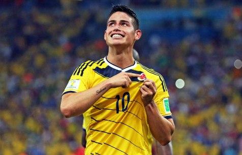 Хамес - лидер сборной Колумбии