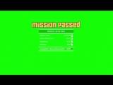 GTA V Mission Passed [GREEN SCREEN]