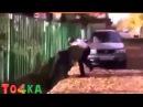 ДРАКА ГОПНИКА И БОКСЁРА( НЕ НА ТОГО НАРВАЛСЯ.)A FIGHT OF THE STREET MUGGER AND BOXER (NOT RAN INTO T