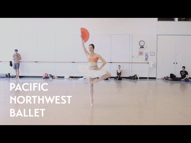 Don Quixote Act 3 Kitri Variation ft Carrie Imler Pacific Northwest Ballet
