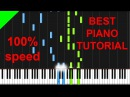 A Great Big World ft Christina Aguilera - Say Something piano tutorial