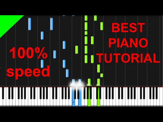 A Great Big World ft Christina Aguilera Say Something piano tutorial