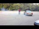 BMW e34 525i M50B25 / E30 318iS HD Slalom and learning how to drift