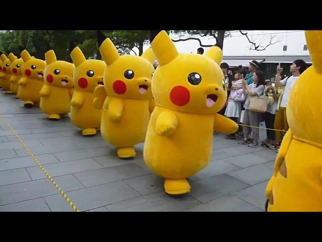Pikachu parade Yokohama 2015