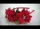 D.I.Y. Satin Ribbon Flower Headband - Tutorial MyInDulzens