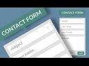 Универсальный PHP скрипт обратной связи для простых сайтов и Landing Pages uniMail