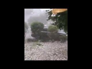Intensiv Hagel und Unglaublich Unwetter in Hennef, (Tornado) RAW VDEO 2015