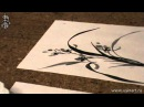 Уроки по китайской живописи дикая орхидеи 兰花 Урок 9 Елена Касьяненко рисует Ор ...
