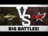 Big battles! by Team Secret vs CDEC @ The Shanghai Major