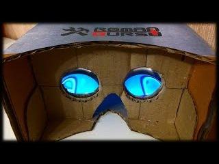 ОКУЛУС РИФТ своими руками из картона (1 часть) / How to make Oculus RIFT cardboard (part 1)