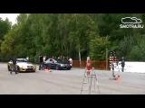 Drag Racing BMW M5 gold Эрик Давидыч Драг рейсинг гонки в Москве 2015 бумер, золотая бмв М5 Давидыч на охоте, тест-драйв, Смотра.ру, Smotra RUN, драговые машины, Москва, авто