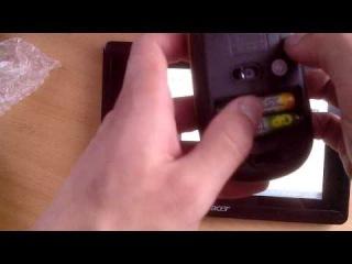 2.4GHz Ultra-Slim Mini USB Wireless Optical Mouse Unboxing / Распаковка